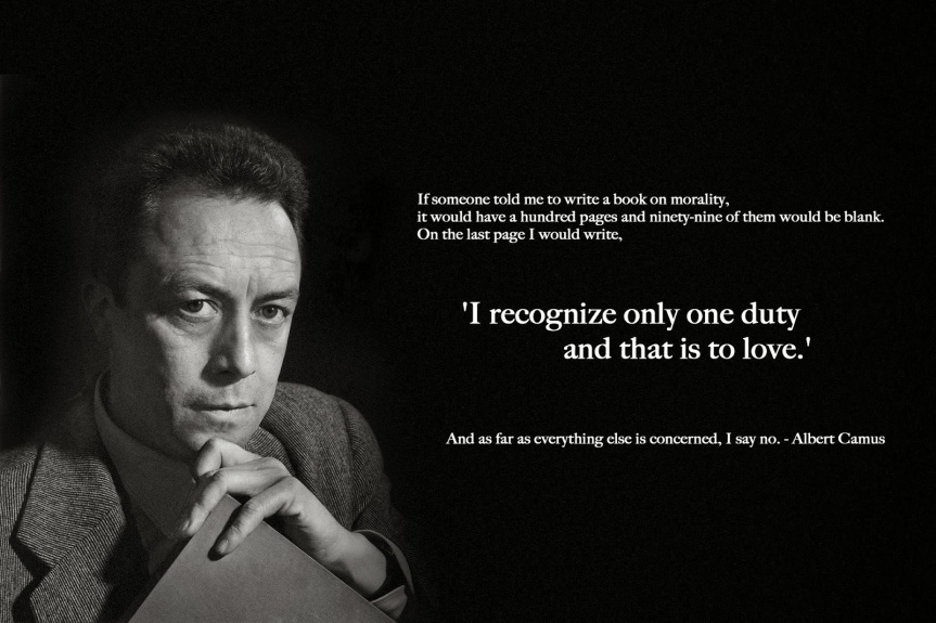 Albert Camus Quote-1-Love