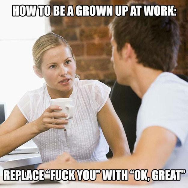 work etiquette